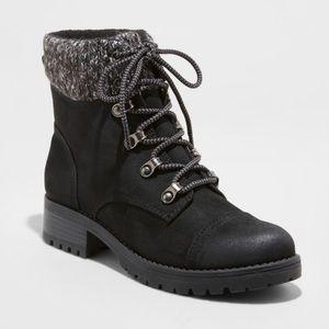 NEW Universal Thread Danica Hiking Boot Black